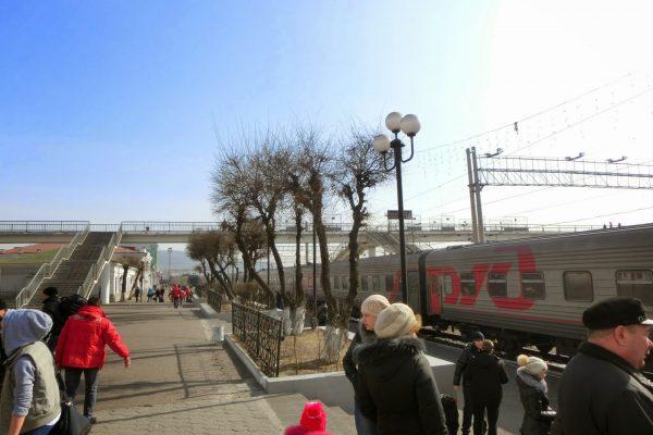 Transsibirische Eisenbahn und weitere Kuriositäten