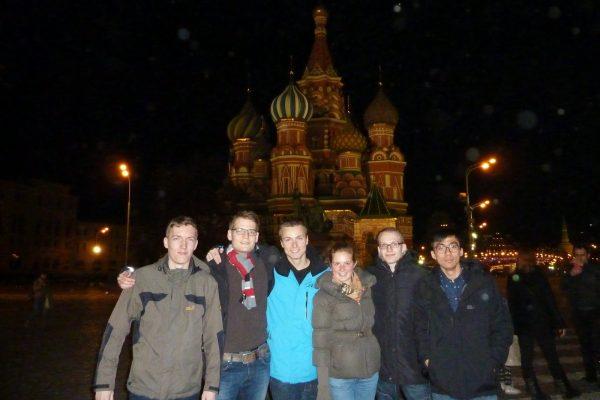 Abreise nach Moskau