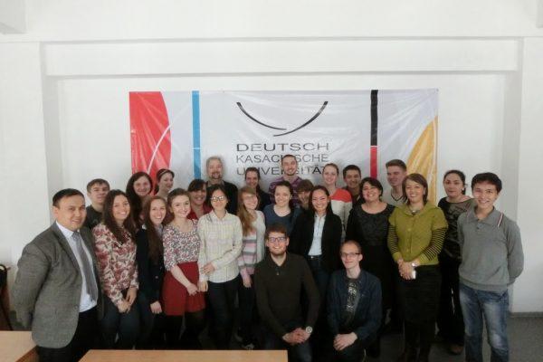 Die Deutschen Studenten aus Kasachstan…