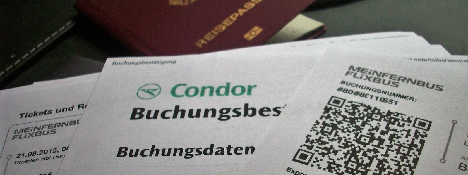 Visum und Reiseplanung