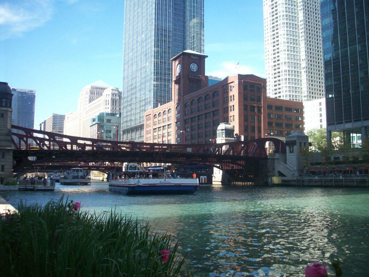 Bootsfahrt auf dem Chicago River