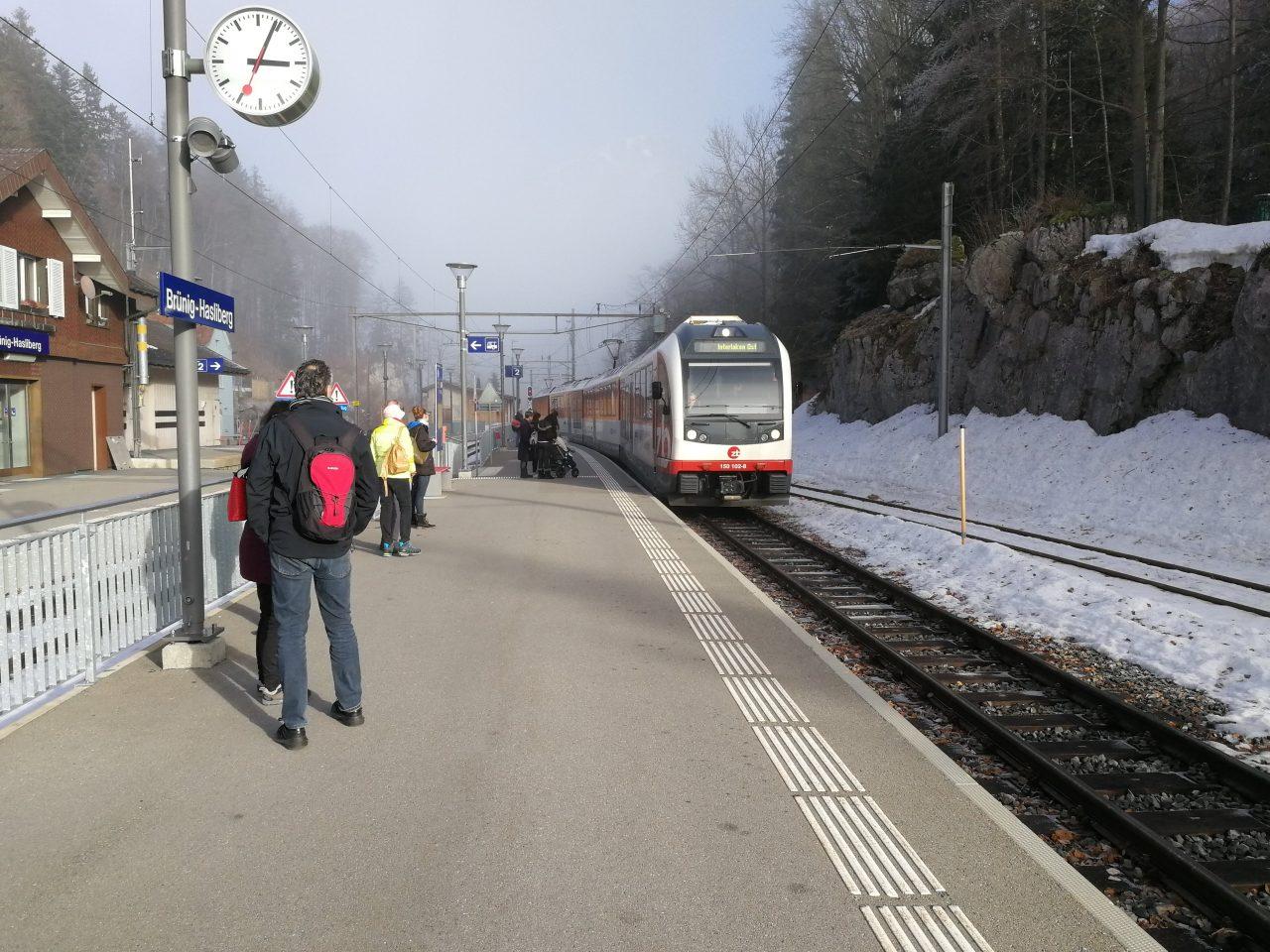 Die halbe Schweiz an einem Wochenende