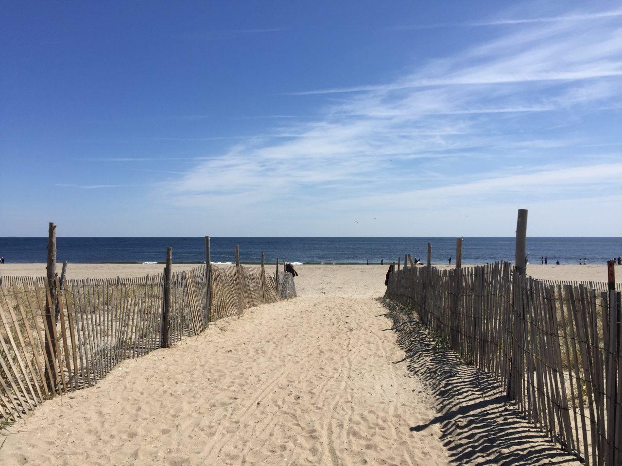Strandbesuch am Wochenende
