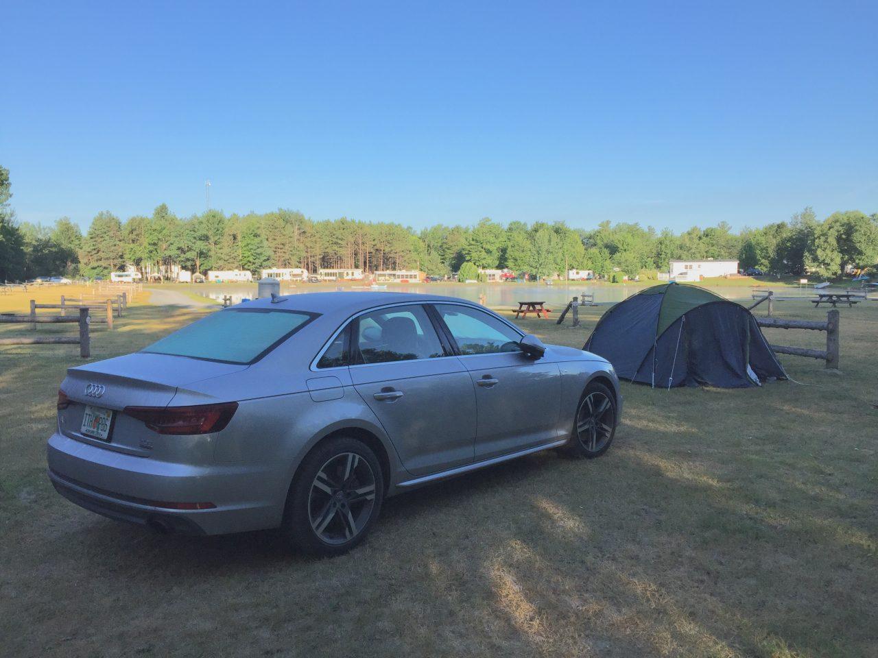 Camping Ausflug nach Kanada